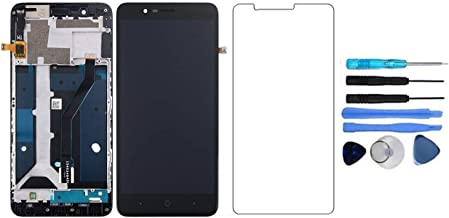 LCD Display Touch Screen Digitizer Glass Assembly with Frame for ZTE Blade Z Max Z982 ZMax Pro 2 Sequoia 6.0