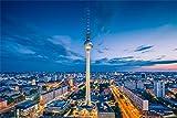 Berlin Stadt Fernsehturm City XXL Wandbild Foto Poster