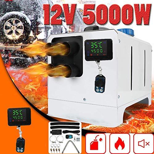 Triclicks Réchauffeur d'air diesel d'intérieur, écran LCD, 12V 5000W