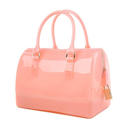 0825aed4398c Donalworld Women Waterproof Jelly Pillow-shaped Bag Doctor Style Handbag