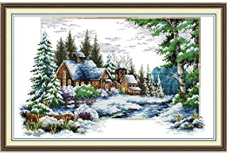 Happy Forever Cross Stitch, The scenery of the winter