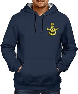CUPIDSTORE Army Sweatshirts - 19 Indian Airforce Red Blue Black Hoodies for Mens