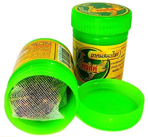 Preisvergleich Produktbild 2 x Hong Koo Herbal Inhaler aus thailändischen Kräutern und ätherischen Ölen