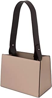 YX Shoulder Bag, Wide Shoulder Strap Tote Bag Simple Shoulder Bag Handbags Wild Messenger Bag (Color : Beige)