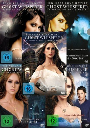 Ghost Whisperer - Die komplette 1. - 5. Staffel (29-Disc | 5-Boxen)
