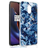 Pnakqil Oneplus 6T Case, Transparent Clear with Stylish 3d