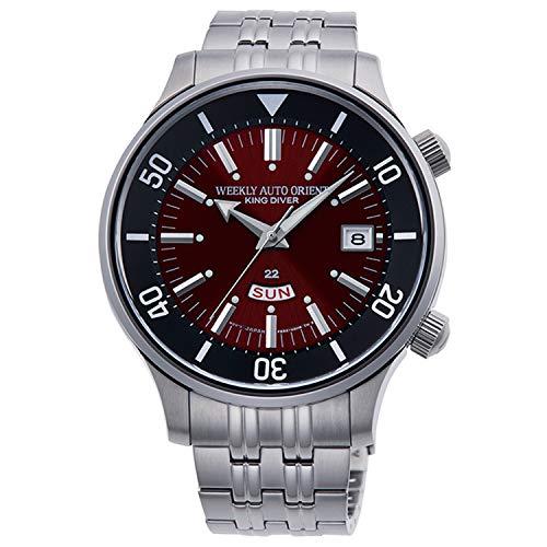 Orient Reloj Analógico para Hombre de Automático con Correa en Acero Inoxidable RA-AA0D02R1HB