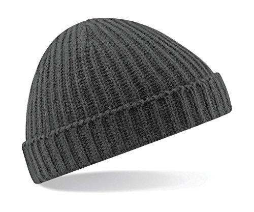 Beechfield - Bonnet - Homme - Gris - Smoke Grey - Taille unique