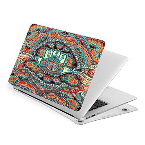 Laptop Case for MacBook Hamsa Hand Evil Eye Laptop Computer Hard Shell Cases Cover (New Air13 / Air13 / Pro13 / Pro15)