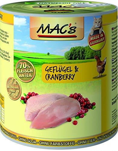 MAC's | Geflügel & Cranberry | 6 x 800 g