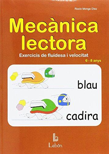 Mecànica lectora, exercicis de fluïdesa i velocitat, Educació Primària, 6-8 anys