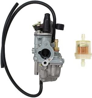 New Carburetor for Suzuki JR50 1984-2006 Dirt Pit Bike, Quadmaster 50 LTA50 LT-A50 2x4 2002-2005, Quadrunner 50 LT50 2x4 1984-1987 ATV Quad Carb with Fuel Filter