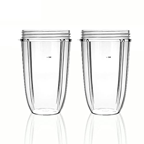 2 Pack NutriBullet 24 OZ Cup Replacement Parts