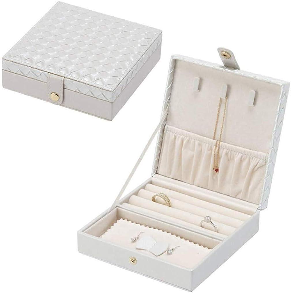 階下協会野菜FJFSSHジュエリーギフトボックス ジュエリー収納ボックスミニポータブルジュエリーボックスネックレスネックレスのイヤリングの宝石類の収納ボックス FJFSSH
