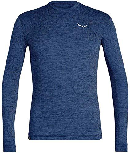 Salewa Herren Puez Dry M L/S Tee Blusen & T-Shirts, Dark Denim...