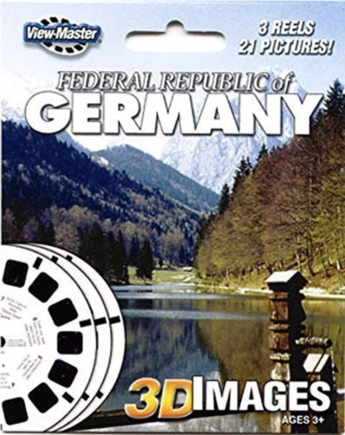 ViewMaster Federal Republic of Germany Reels by View Master