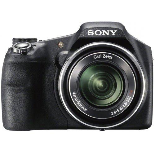 Sony DSC-HX200V Digitalkamera (18 Megapixel, 30-fach opt. Zoom, 7,6 cm (3 Zoll) Bildschirm, Full HD, GPS, Schwenkpanorama)