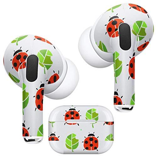 Airpods Pro Skin + Funda Skin Apple Airpods Pro Skin Airpods - Fundas elegantes para protección y personalización compatibles con AirPodsPro 003154 Animal Ladybug Pattern