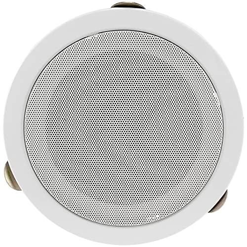 Altavoz empotrable para Techo y Pared CTE-W, Color Blanco, Rejilla de protección...