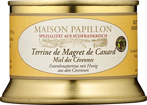 Maison Papillon - Entenbrustpastete mit Honig aus den Cévennen - 130 g