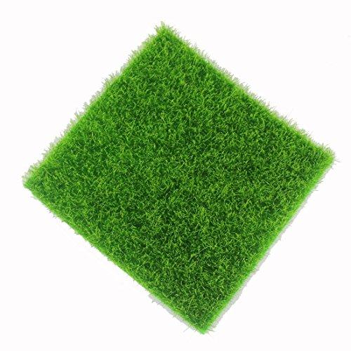 1 Pièce Tapis De Pelouse Verte Artificielle