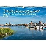 Calendario 2022 de Alemania con diseño de Alemania del Mar Báltico a los Montes Metálicos (DIN A3)