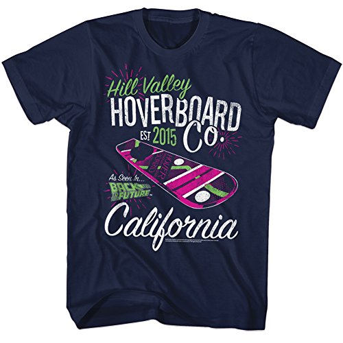 Hill Valley Hoverboard Co. T-Shirt Small
