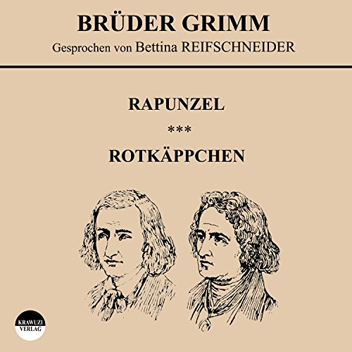 Rapunzel / Rotkäppchen audiobook cover art