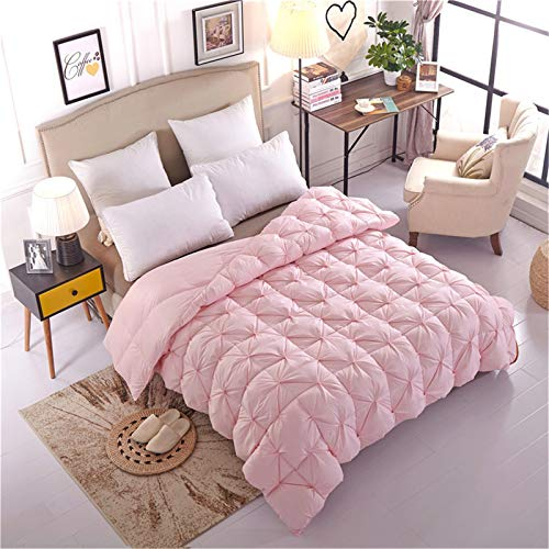 XiXiShangMao And Winter White Duck Down Quilt, Full Down, Down Velvet Thick Quilt, 100% Cotton Anti-Mite And Anti-Allergic Fabric Household Gift Quilt Can Be Customized