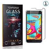 Ramcox Displayschutzfolie für Samsung Galaxy A2 Core, 9H Härte Anti Fingerprint Displayschutz, 3D Touch Schutzfilm aus Gehärtetem Glas, 1 Stück -