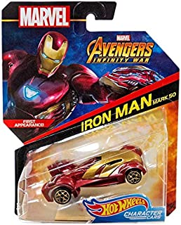 hot wheels avengers infinity war character cars