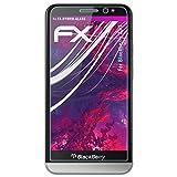 atFolix Glasfolie kompatibel mit BlackBerry Z30 Panzerfolie, 9H Hybrid-Glass FX Schutzpanzer Folie
