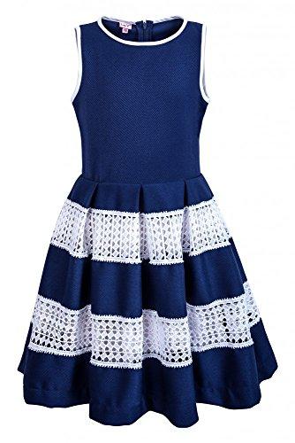 La-V Festliches Kleid Saphirblau/Größe 170