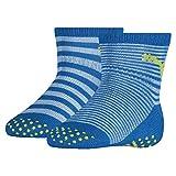 PUMA ABS Baby Socks (2 Pack) Calzini, Blue Green Combo, 15/18 IT Unisex-Bimbi