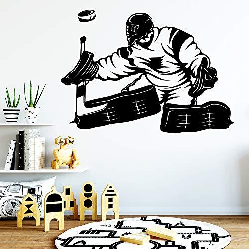 Tianpengyuanshuai Nette Hockey Vinyl Tapete Möbel Dekoration Home Party Dekoration 42X58cm