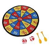 Junlinto, Giochi di Sport Tessuto Dart Board Set Kid Ball Target Game per Bambini Giocattolo di Sicurezza