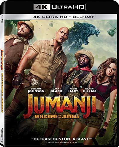Jumanji: Welcome to the Jungle [4K UHD + Blu-ray]