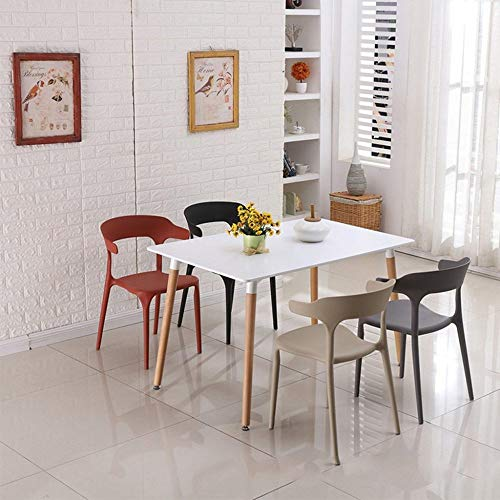 Eettafel LKU Modern Kitchen Wooden Dining Table Coffee Table Leisure Conference Pedestal Desk, Verenigde Staten