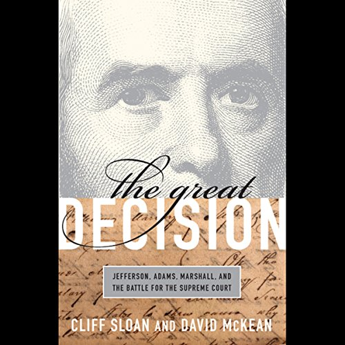 The Great Decision audiobook cover art