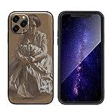 Adolph Menzel Para el caso del iPhone 11 Pro Max/Estuche para teléfono móvil de silicona artística/I...