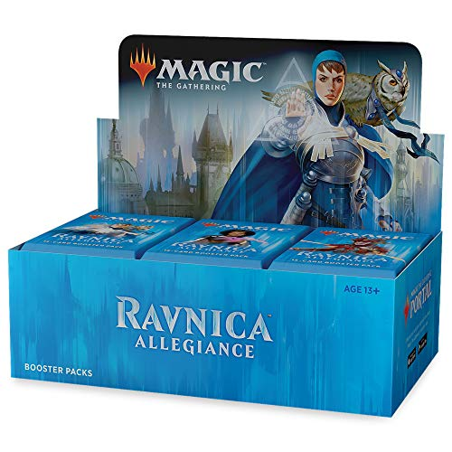 Wizards of the Coast 630509673162 Magic The Gathering-Ravnica Allegiance Booster Display of 36 Packets