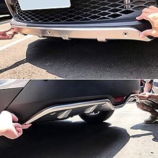 Aroba AR743 protezione paraurti posteriore ABS plastica colore nero Rearguard