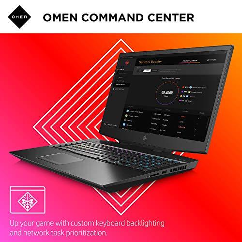 Omen by HP 2019 17-Inch Gaming Laptop, Intel i7-9750H, NVIDIA GeForce RTX 2080 (8 GB), 16 GB RAM, 512 GB Solid-Stat   e Drive, VR Ready, Windows 10 Home (17-cb0090nr, Shadow Black)