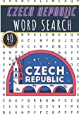 Czech Republic Word Search: 40 Fun Puzzles With Words Scramble for Adults, Kids and Seniors | More Than 300 Czech Words On Cities, Famous Place and ... and Heritage, Czech Terms and Vocabulary