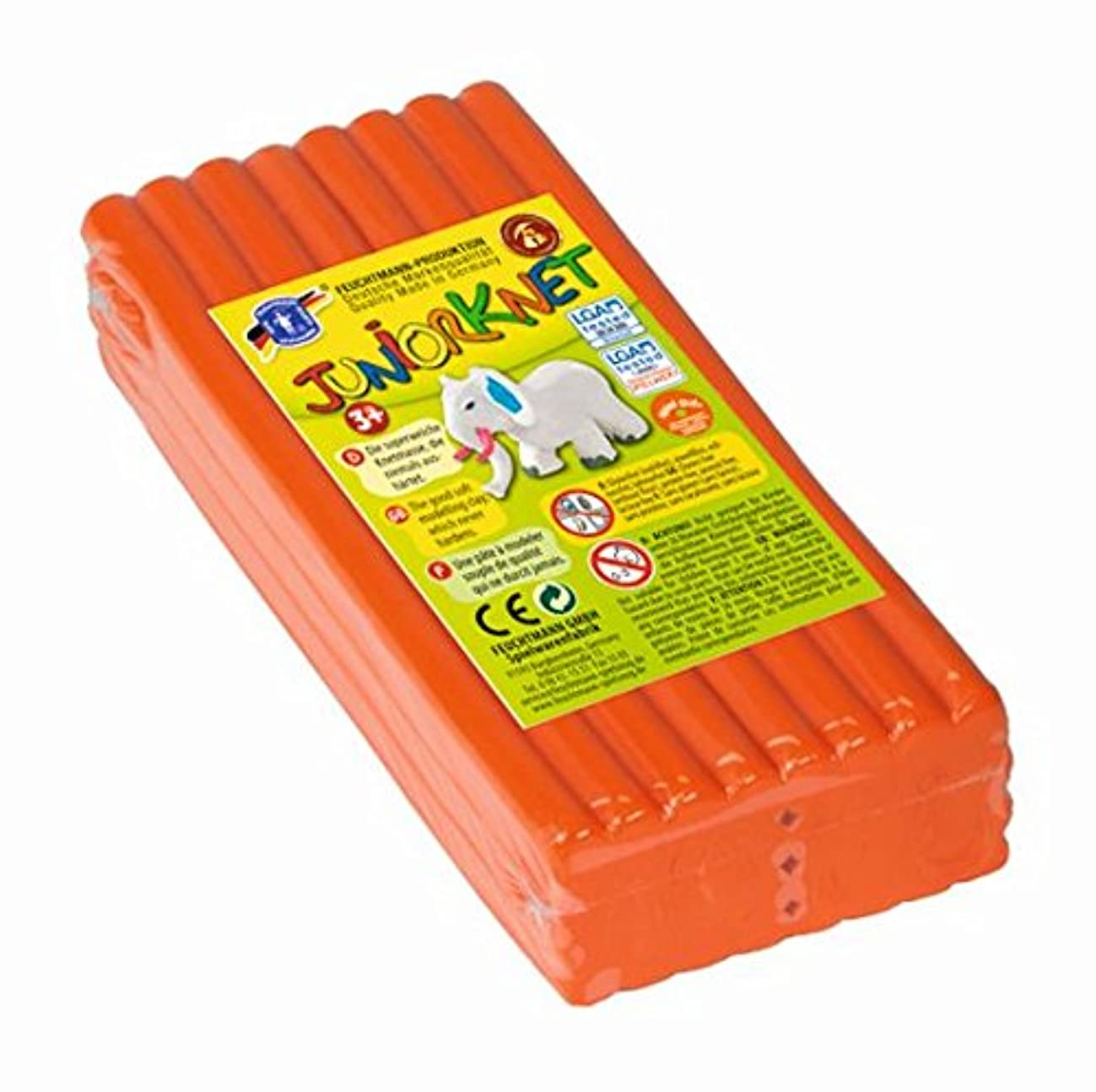 Feuchtmann Juniorknet Modelling Dough Jumbo Pack (Orange)
