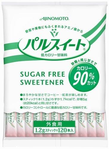 味の素 パルスイート スティック 業務用 (1.2g×120本)×2袋