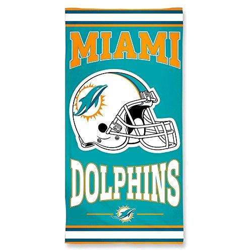 Wincraft - Toalla de playa, diseño de los Miami Dolphins
