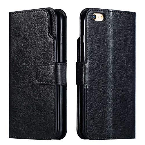 Dendico Schutzhülle für Galaxy A3, Schutzhülle aus Leder [9 Fächer für Karten und Geldbeutel] [Magnetverschluss] [Standfunktion] Schutzhülle für Samsung Galaxy A3