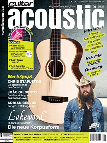 Lakewood C-32 Edition 2019 Interview Rainhard Fendrich Workshop Chris Stapleton