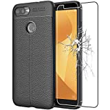 ebestStar - Asus Zenfone Max Plus M1 Case ZB570TL Leather